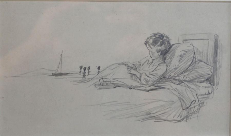 Eileen Alice Soper RMS (1905-1990) - pencil