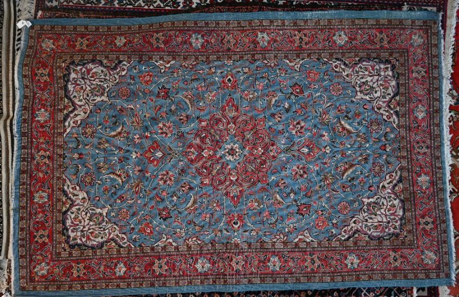 An old Persian Kashan rug - Image 2 of 2