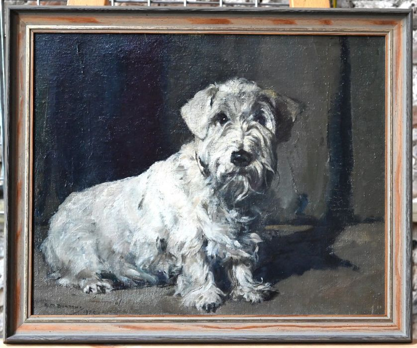 A M Burton - oil on canvas - Image 6 of 8
