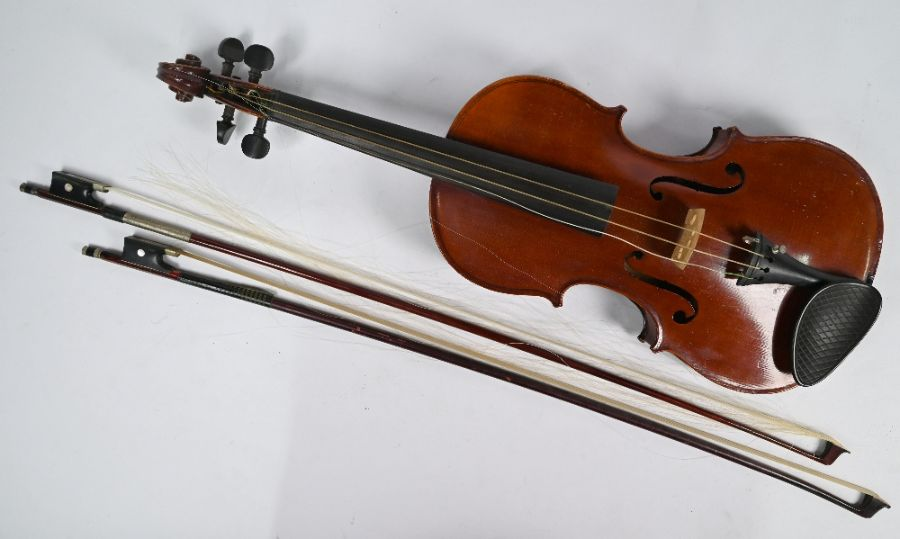 A French violin with Mansuy of Paris label - Image 2 of 4