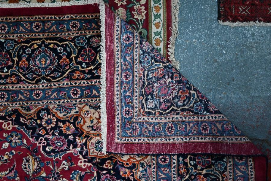 A Persian Meshed carpet - Image 3 of 3