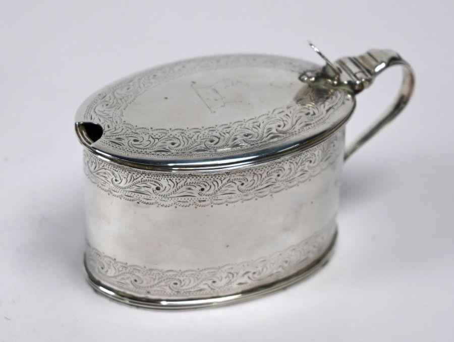 George III silver mustard, Robert Hennell, London 1788
