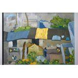 Judy Strafford (1932- 2018) - oil on canvas