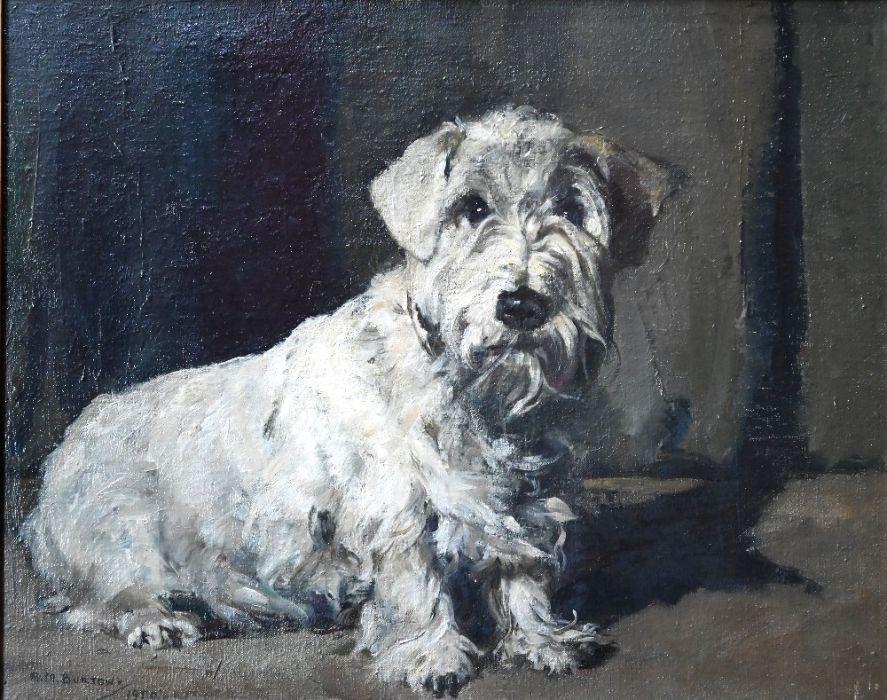 A M Burton - oil on canvas