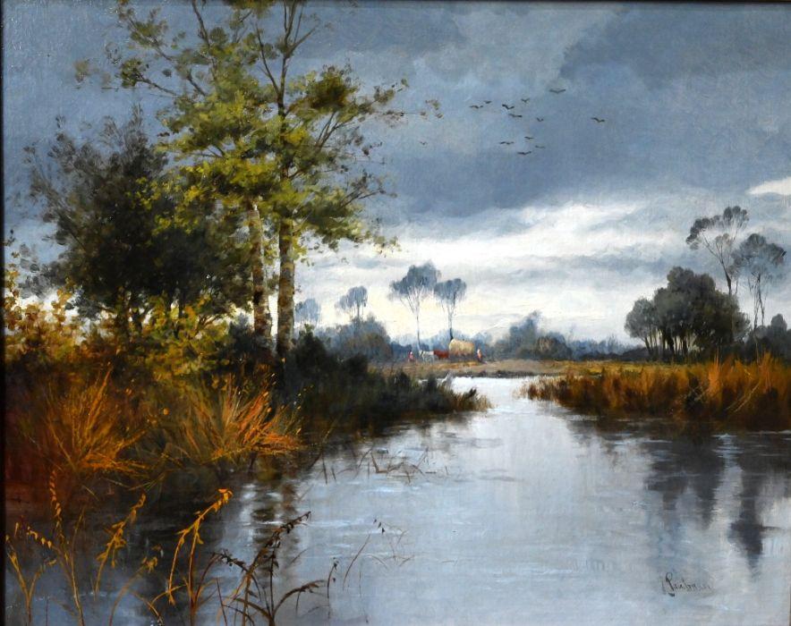 Joseph Paulman (19th century English School) - oil on canvas