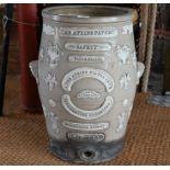 An Atkins Patent water filter