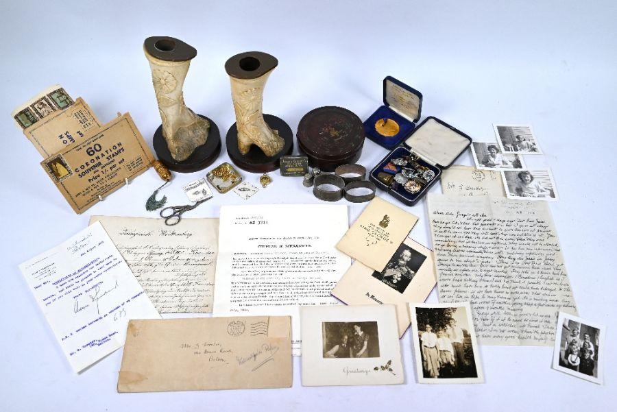 A quantity of ephemera relating to George Cornter (née Koruter)