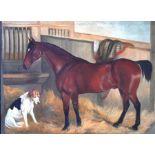 Manner of Herring - oil on canvas