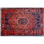 A Persian Bidjar rug, 210 cm x 135 cm