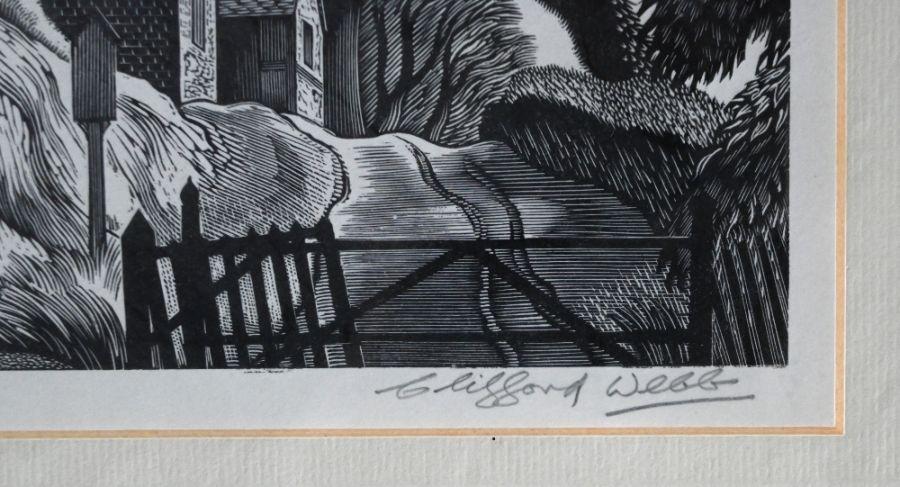 Clifford Webb (1895-1972) - wood engraving - Image 8 of 10