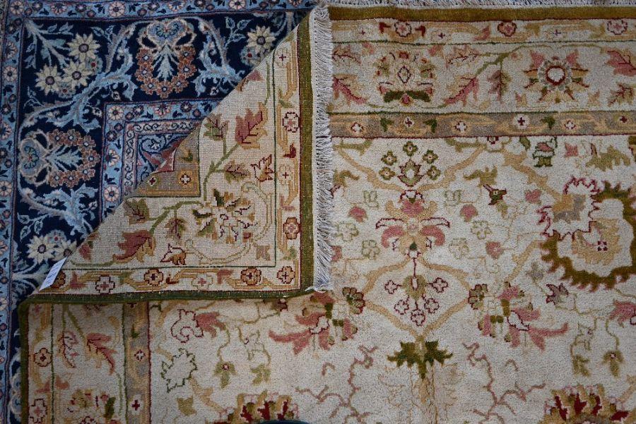 An Indian Agra carpet, 280 cm x 184 cm - Image 3 of 3