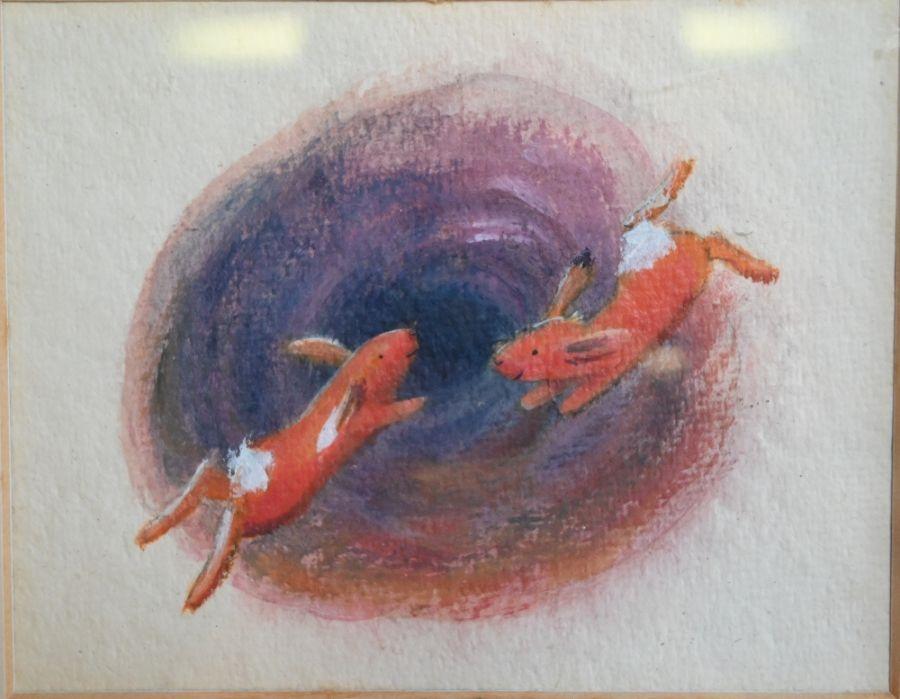 Three original watercolour illustrations - Image 2 of 3