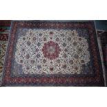 A good contemporary Persian Sarouk carpet