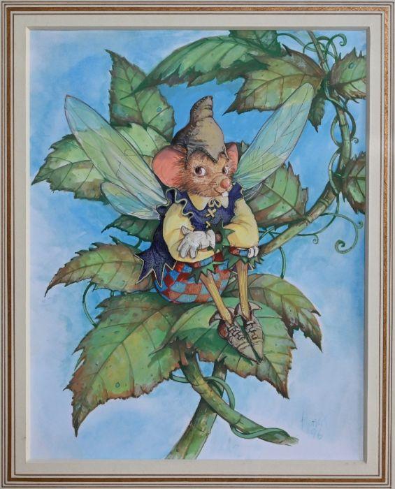 Francis Wainwright (b 1940) - watercolour