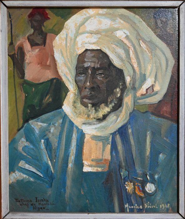 Maurice Fievet (1915-1997) - oil on board