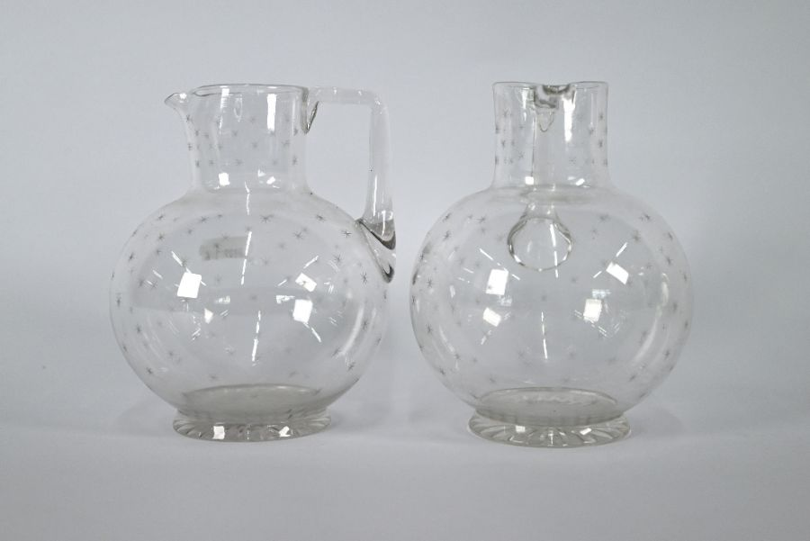 Glass goblet, jugs, nursery plates etc - Image 2 of 4