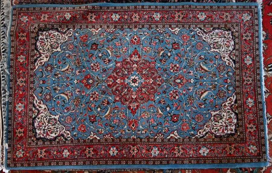 An old Persian Kashan rug