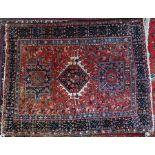 A Persian Heriz rug