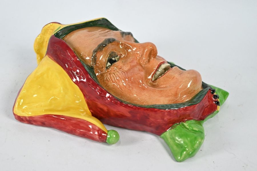 A Royal Doulton 'Jester' wall-mask - Image 4 of 4