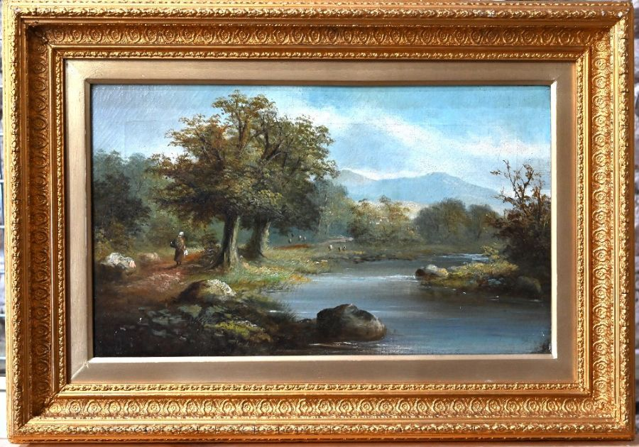19th century Welsh school - oil on canvas - Image 2 of 10