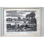 Edward Stamp (b 1939) - wood engraving