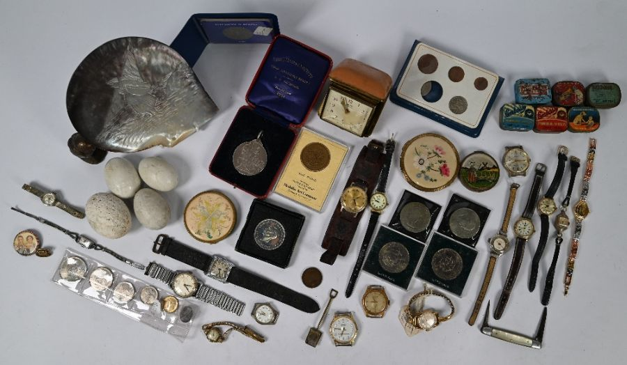 A Shire Horse Society silver medal and other items - Image 2 of 5