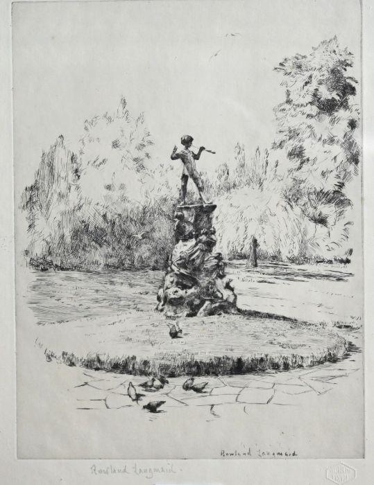 Rowland Langmaid (1897-1956) - etching