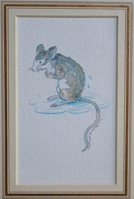 Michael Foreman (b 1938) - watercolour
