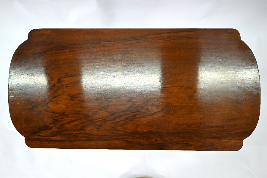 A Victorian rosewood side table - Image 5 of 5