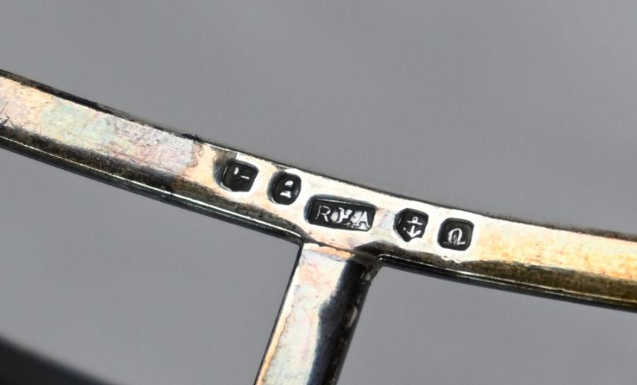 William IV silver toast rack - Image 5 of 5
