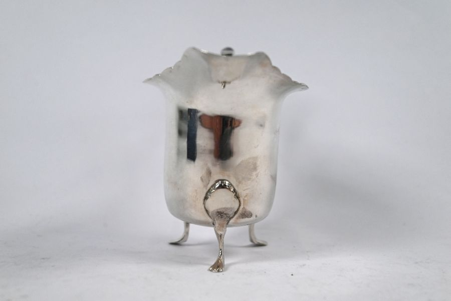 Silver cream jug and various condiments - Image 5 of 6