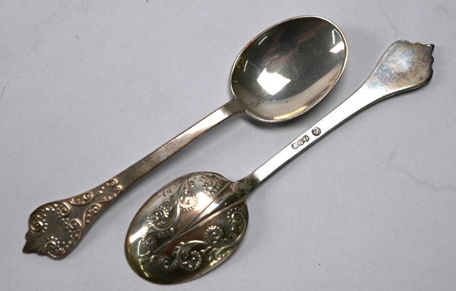 Teaspoons, tongs, etc. - Image 4 of 4