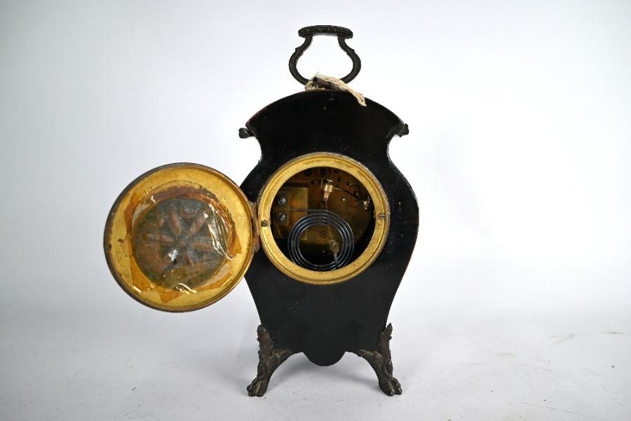 Camerer Kuss & Co, London mantel clock - Image 3 of 4