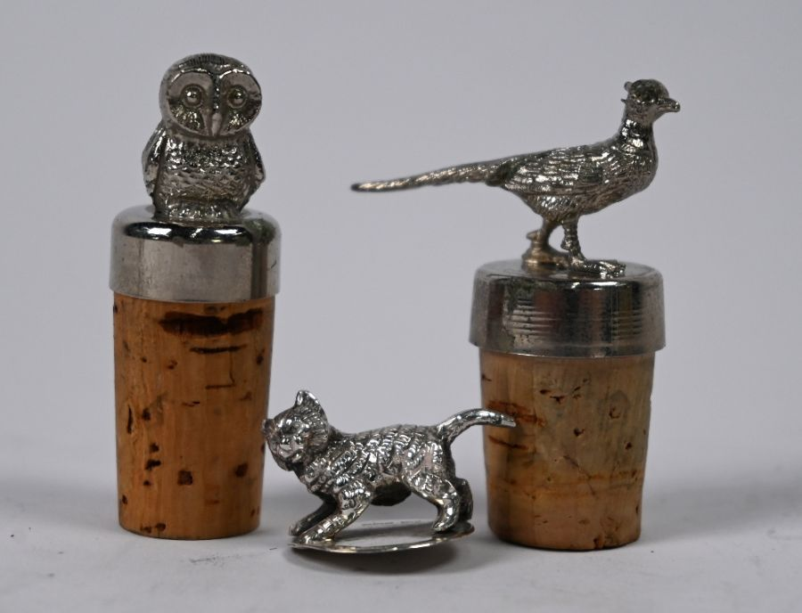 George III bright-cut silver sugar tongs, etc. - Image 2 of 4