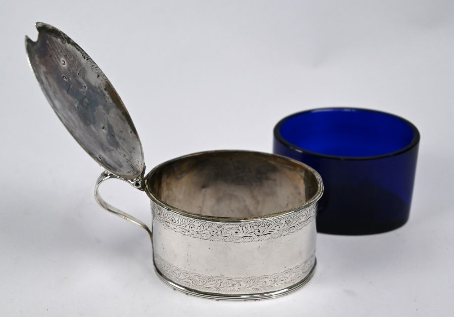 George III silver mustard, Robert Hennell, London 1788 - Image 3 of 4