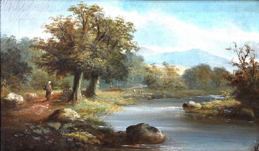 19th century Welsh school - oil on canvas - Image 6 of 10