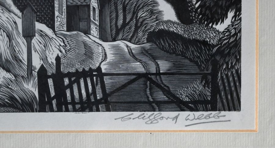 Clifford Webb (1895-1972) - wood engraving - Image 3 of 10