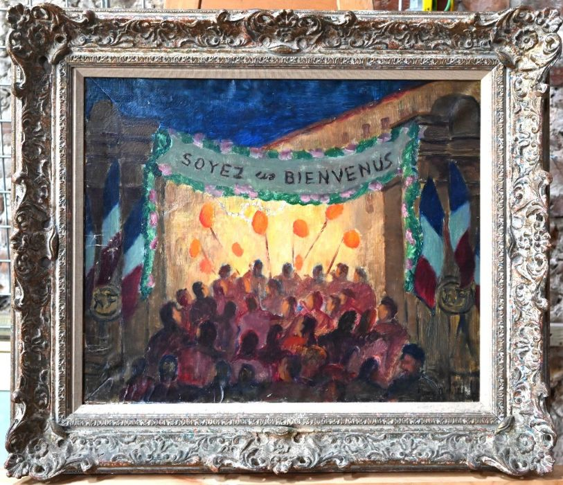 Early 20th century French school - oil on canvas - Image 2 of 6