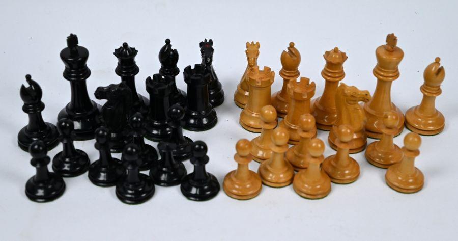 Jaques & Son, London, a 19th century Staunton chessmen set - Image 2 of 5