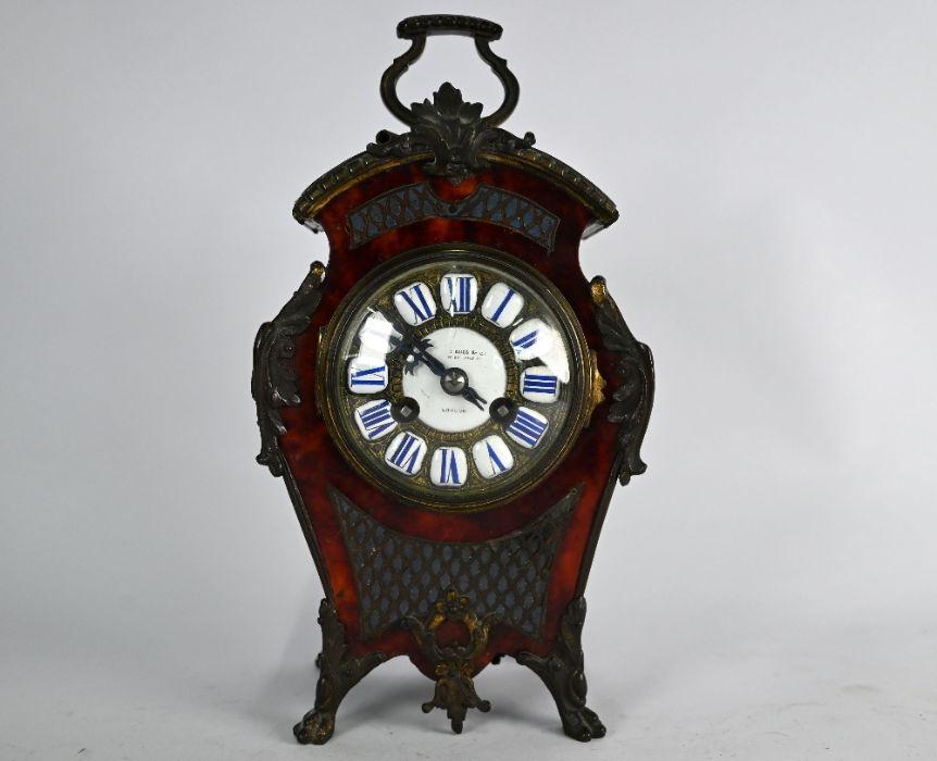 Camerer Kuss & Co, London mantel clock - Image 2 of 4