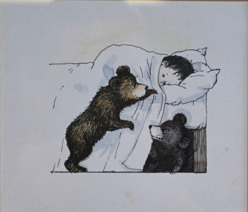 Three original watercolour illustrations