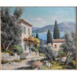 Lucien Potronat (1889-1974) - oil on canvas