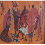 After Robin Anderson (1924-2012) - ltd ed batik print