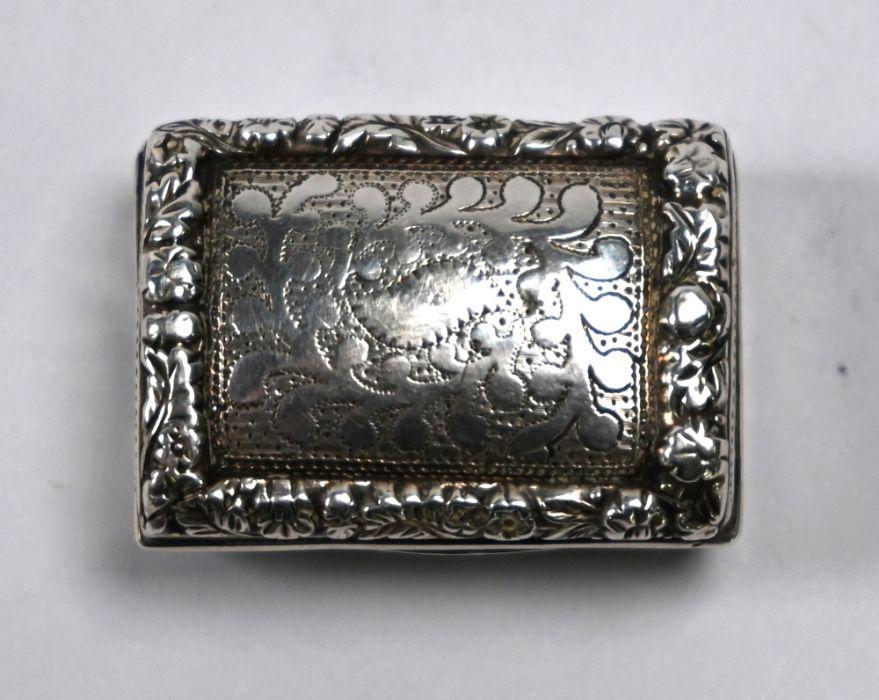 George IV silver vinaigrette, Thomas Parker, Birmingham 1822 - Image 2 of 6