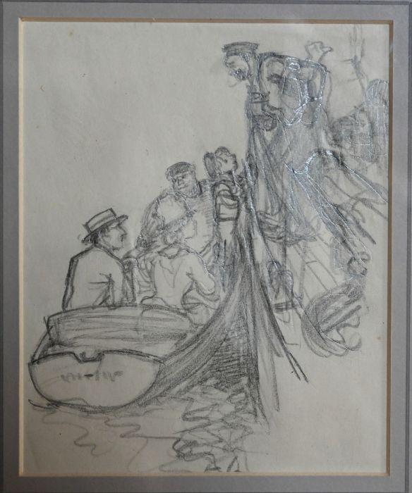 Ernest Howard Shepard (1879-1976) - pencil