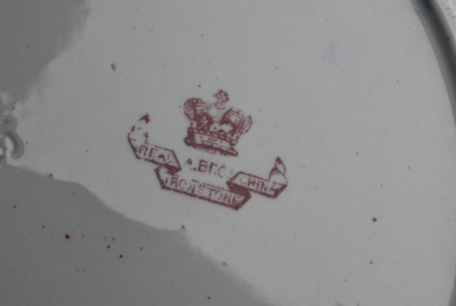 A Victorian Ashworth Brothers Real Ironstone china part dinner service - Image 5 of 5