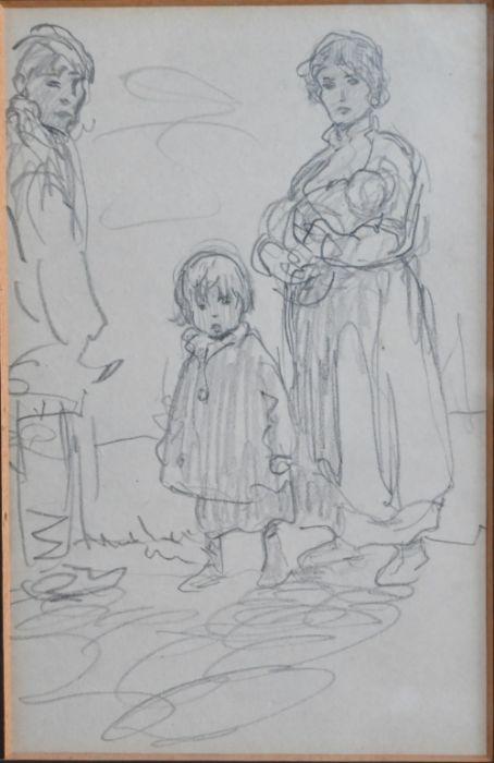 Kate Elizabeth Olver (1881-1960) - pencil - Image 2 of 5