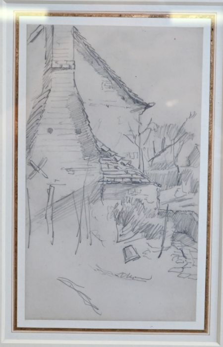 George Clausen RA (1852-1944) - wash - Image 2 of 2