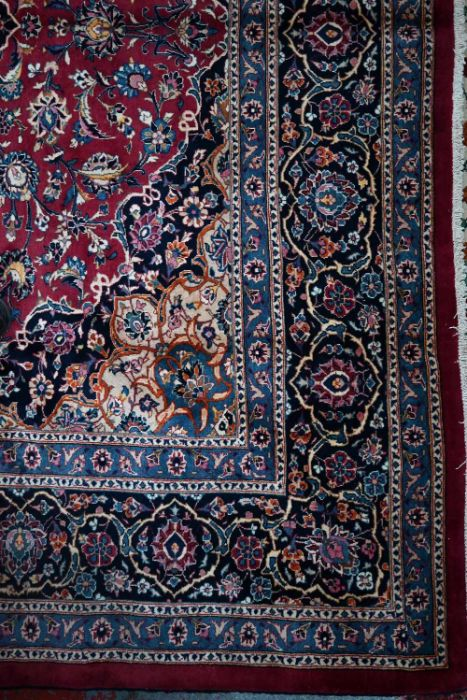 A Persian Meshed carpet - Image 2 of 3