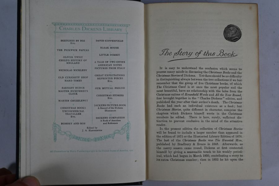 Charles Dickens Library volumes - Image 3 of 3